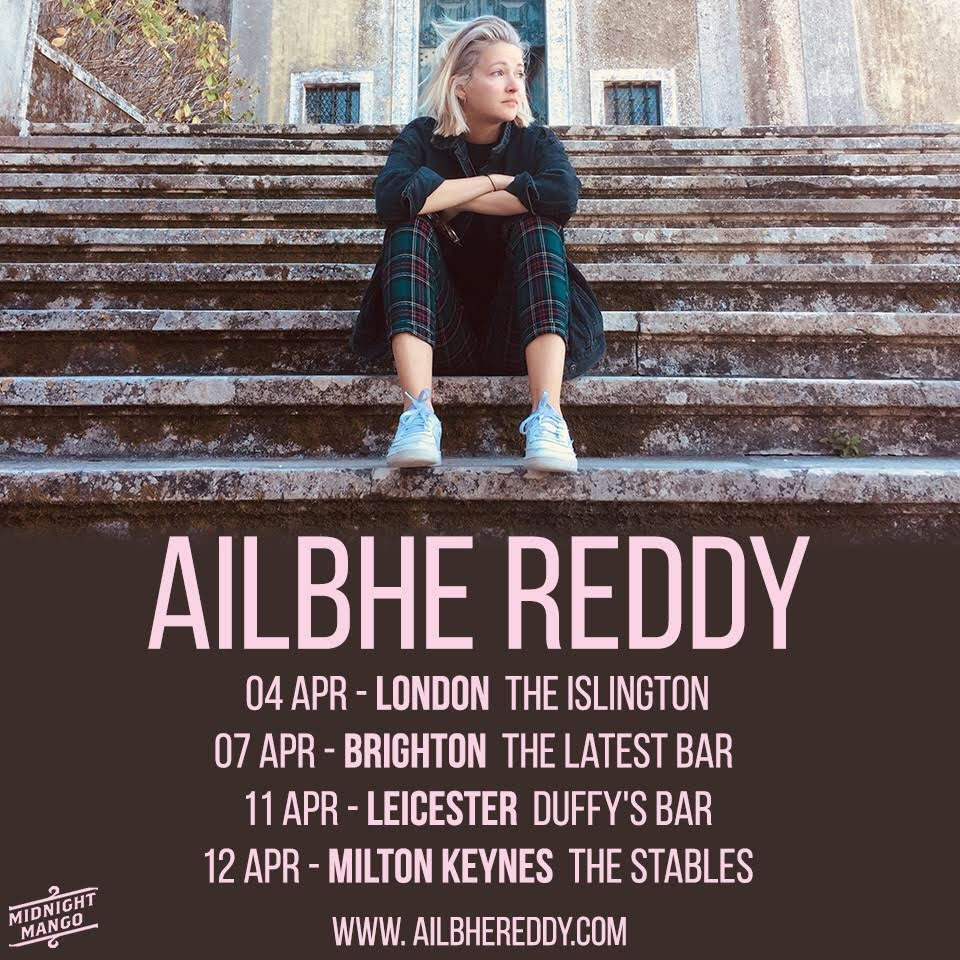 Ailbhe reddy april tour