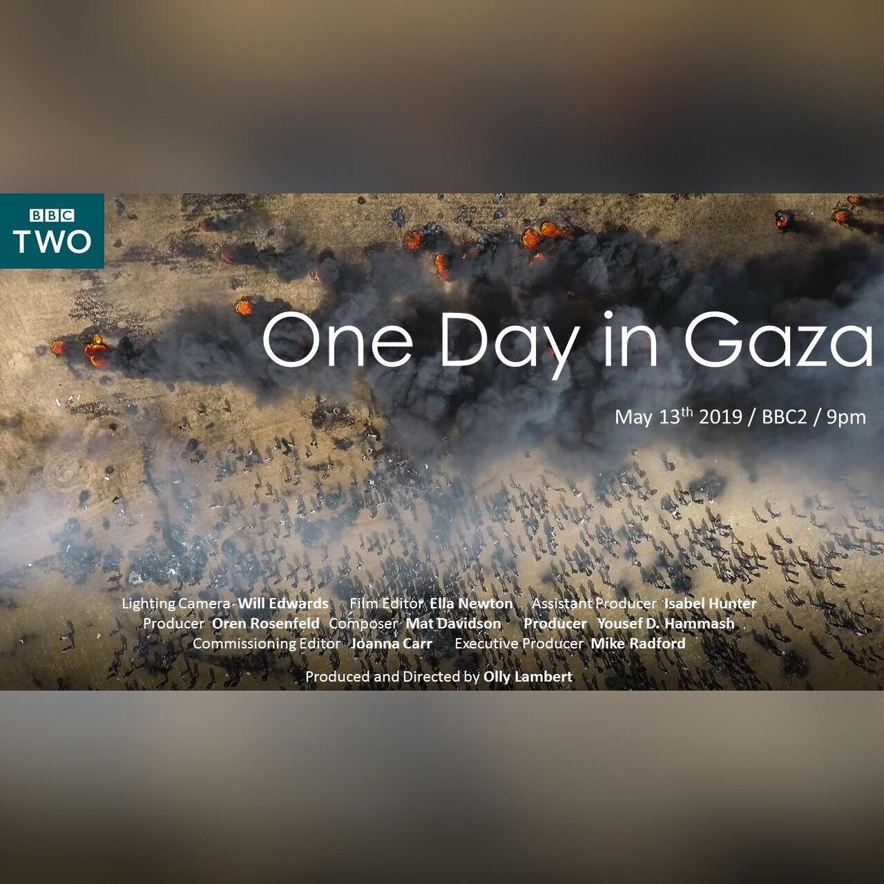 One day in gaza square