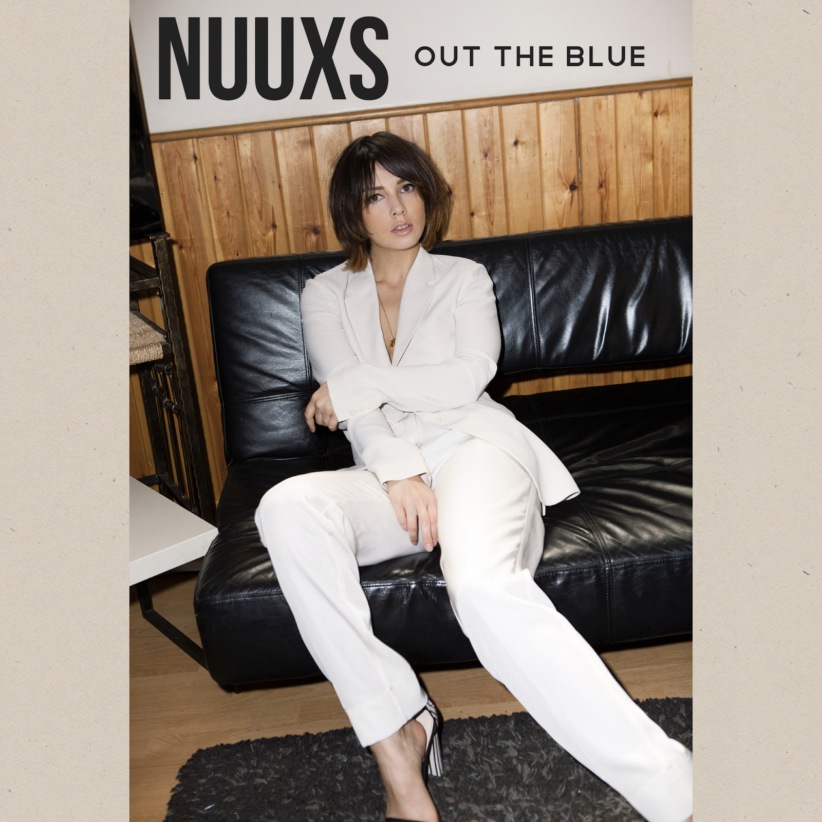 Nuuxs out the blue single artwork