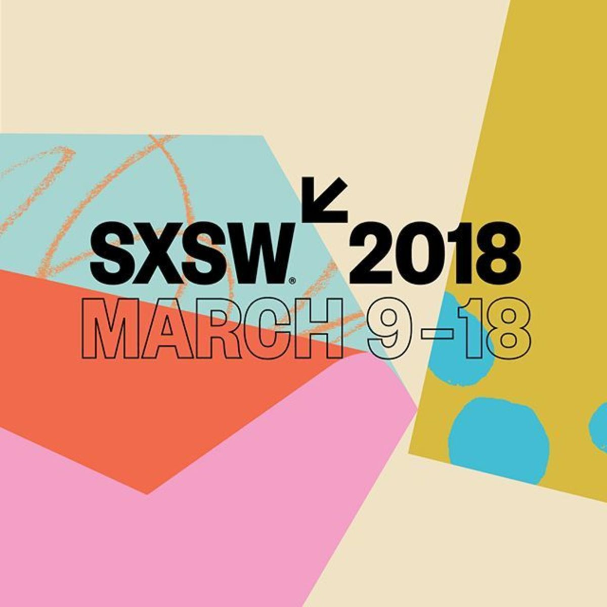 Articlehome were excited to see our work for sxsw 2018 out in the world. more to come. sxsw design keyart