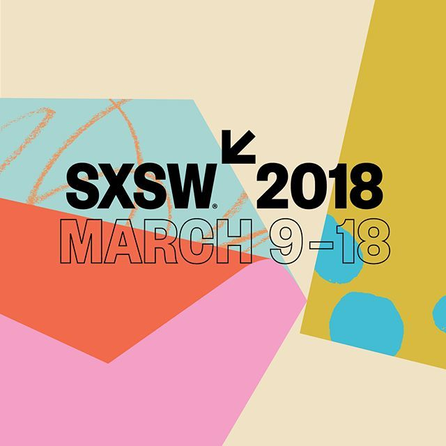 Were excited to see our work for sxsw 2018 out in the world. more to come. sxsw design keyart