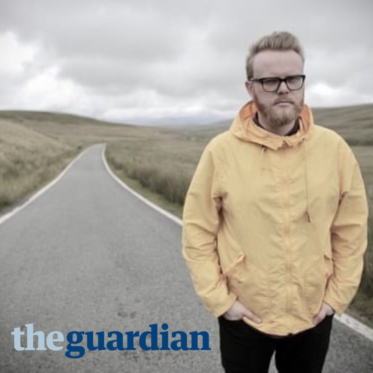 Articlehome huw stephen picture with the guardian text
