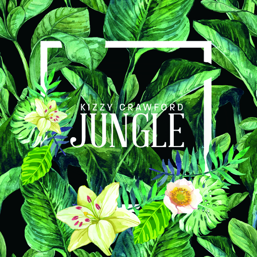 Artistmain kizzy   jungle single cover print