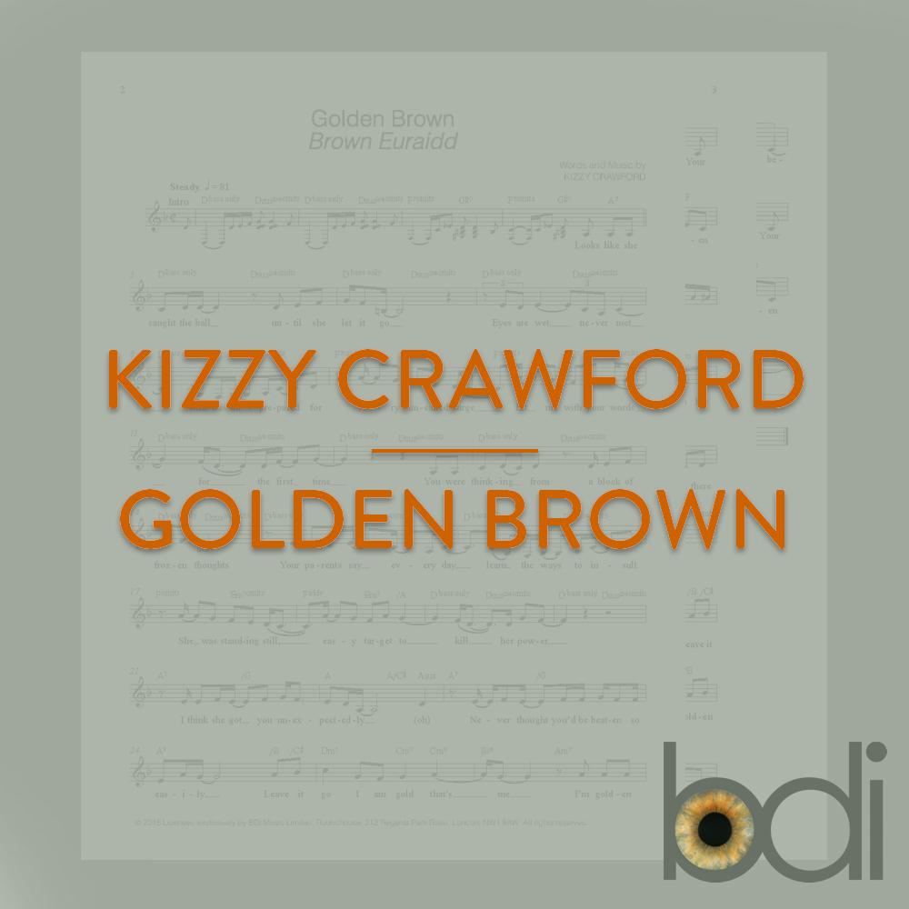 Kizzy crawford   golden brown   orange