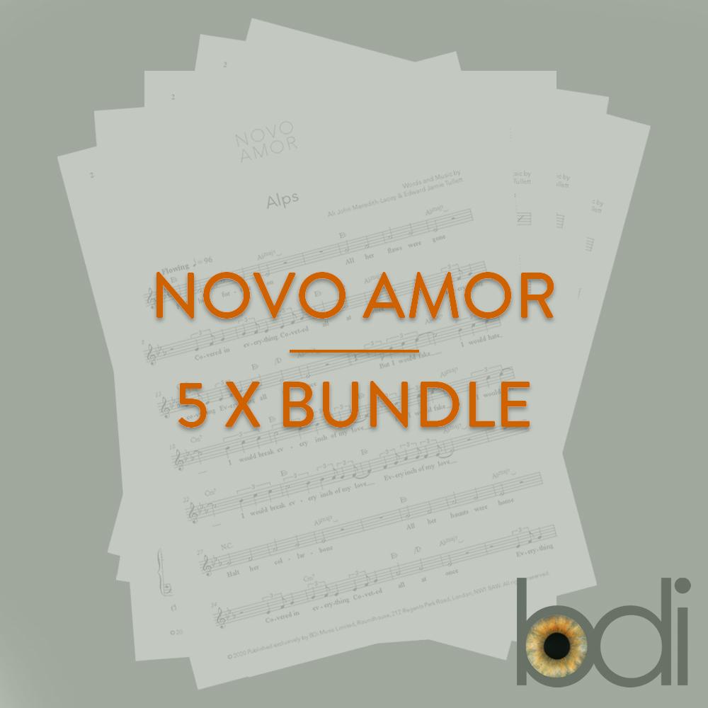 Novo amor   bundle   orange