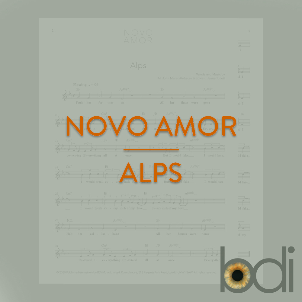 Novo amor   alps   orange