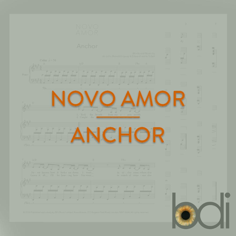 Novo amor   anchor   orange