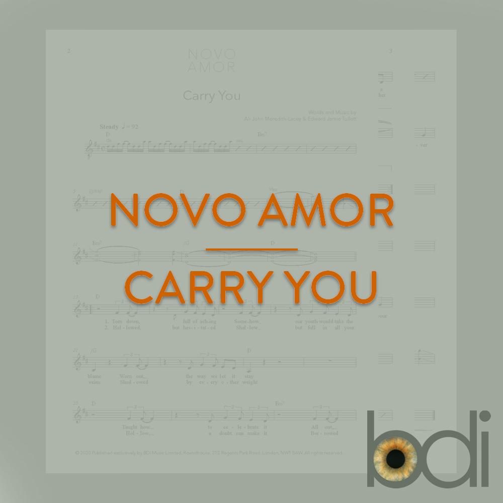 Novo amor   carry you   orange