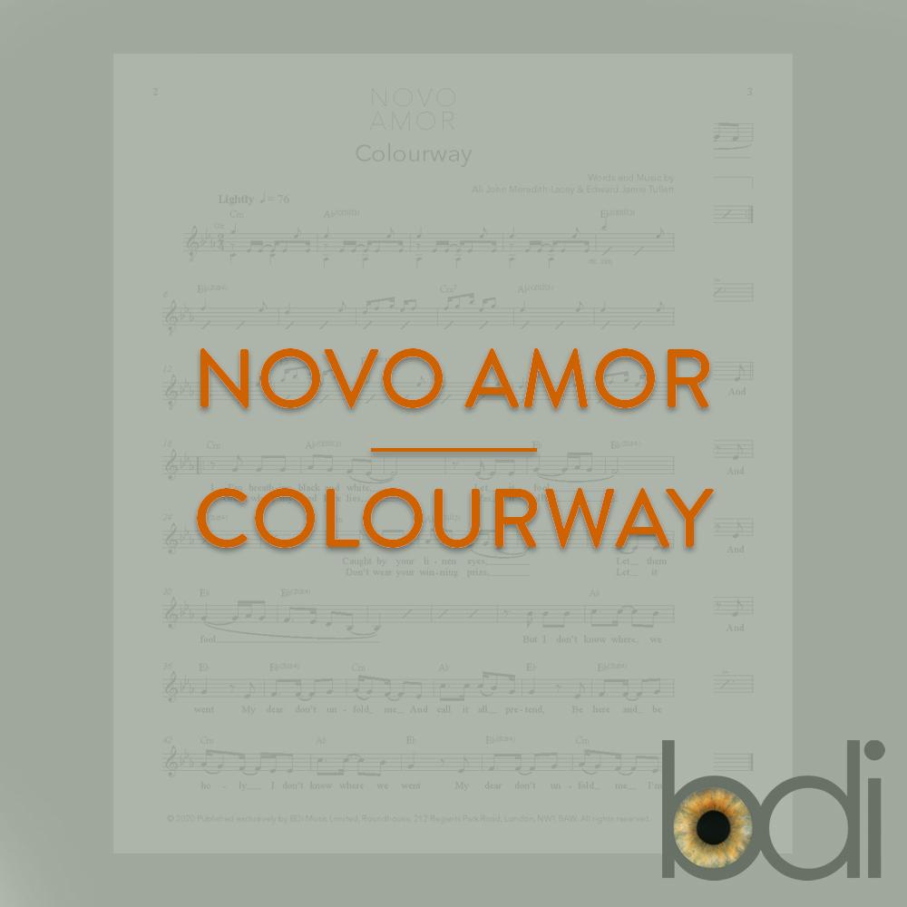 Novo amor   colourway   orange