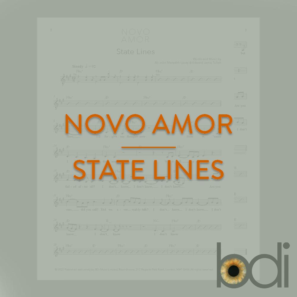 Novo amor   state lines   orange
