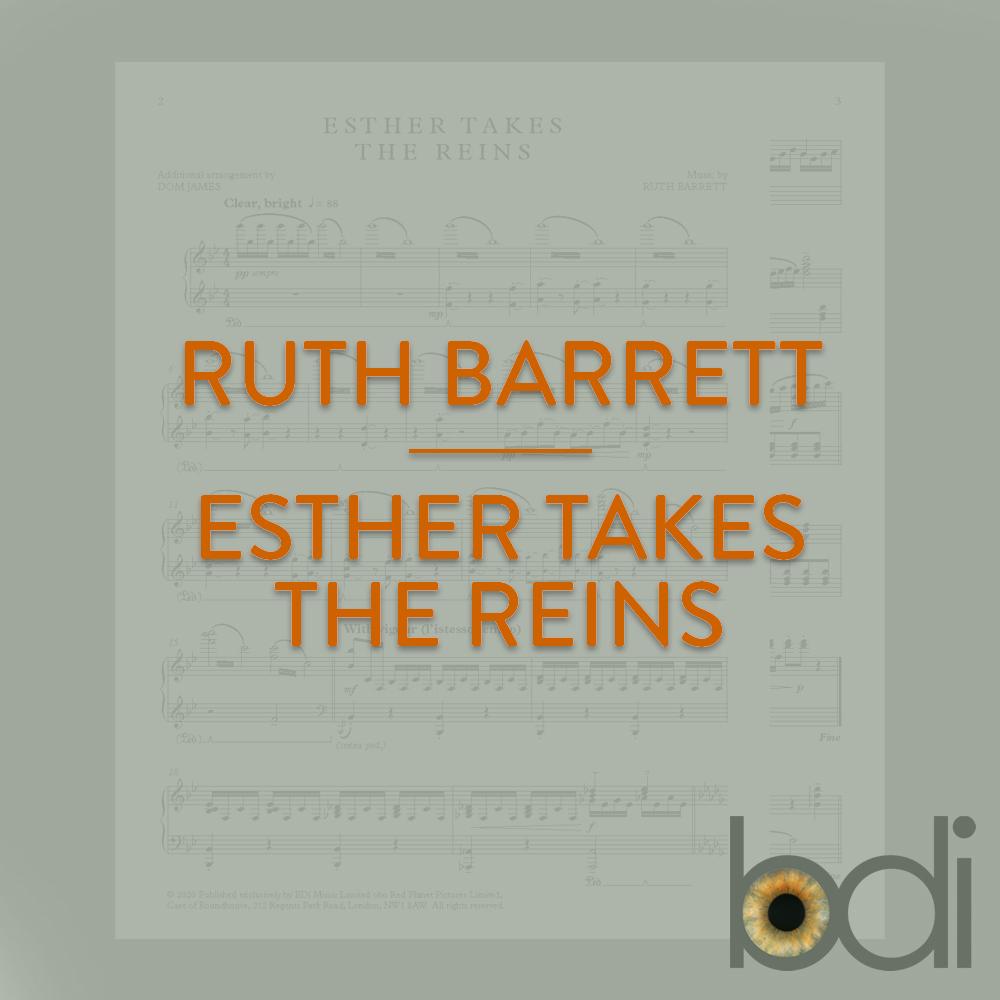 Ruthbarrett   esther takes the reins   orange