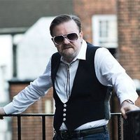 Artistmain ricky gervais to release a david brent single ahead of life on the road movie